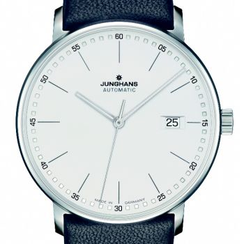 Junghans Herrenuhr Automatic Form A mit Lederband 027/4730.00