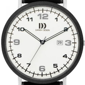 Danish Design Herrenuhr mit Lederarmband 3314479
