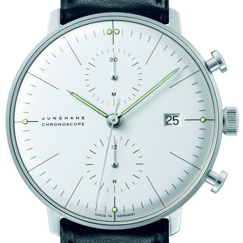 Max Bill by Junghans Chronoscope Herrenuhr 027/4600.00