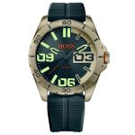 Hugo Boss Orange Herrenuhr Edelstahl mit Silikonband 1513287